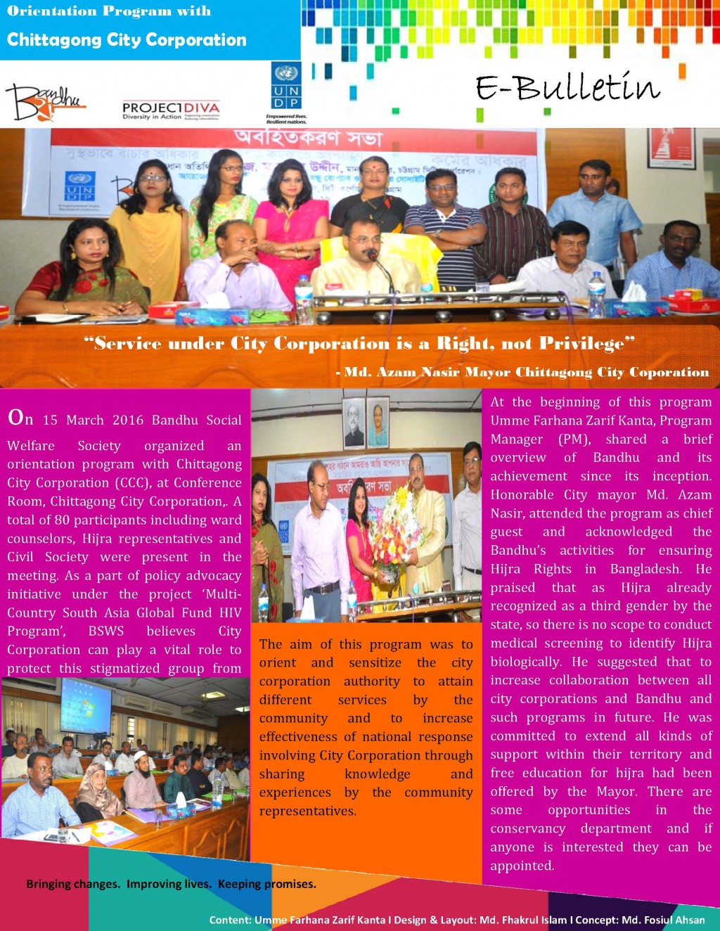 E- Bulletin- City Mayor at CTG