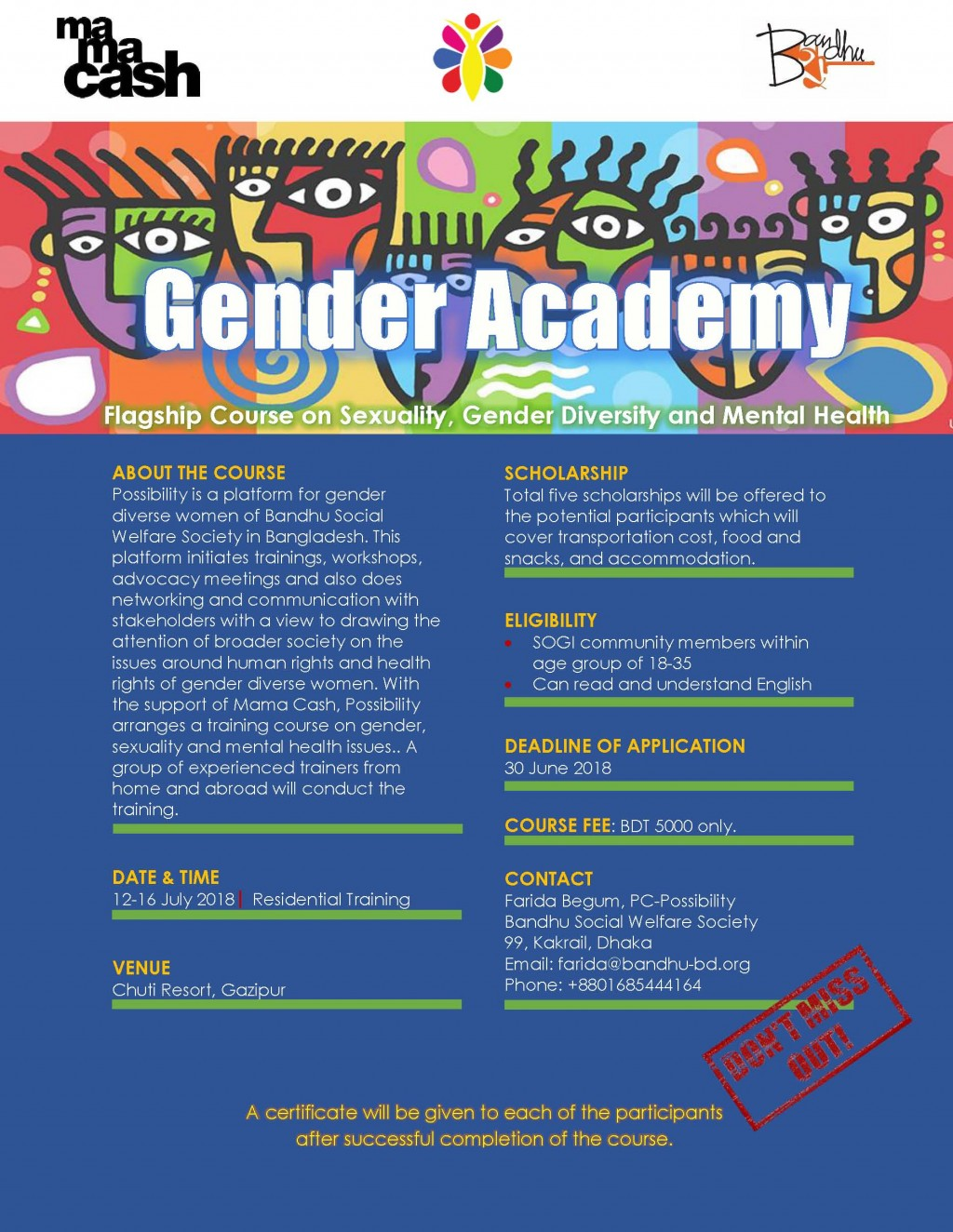 Flyer for Gender Academy_1