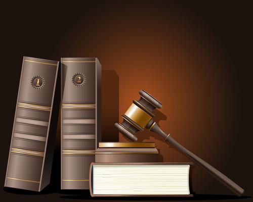Creative-law-elements-vector-set-01